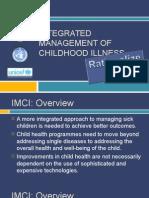 Integrated Management of Childhood Illness
