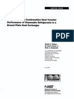 Evaporation and Condensation Heat Transfer Performance of Flammable Refrigerants