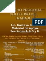 Derecho Procesal Laboral Colectivo Modificado. 27 Julio 2015. (2)