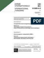 IEC 61000-4-2-amd1 - DE