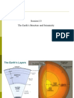 I.3 the Earths Structure & Seismicity