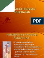 Strategi Promeosi Kesehatan