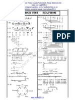 CGL Tier I - Paper 6 Solution