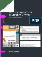 Isoinmunización Materno – Fetal
