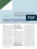 Articulo Uso de La Hidroxipropilmetilcelulosa (Hpmc) en Liberacion Modifi Cada de Farmacos Www.farmaindustrial.com