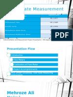 flowratemeasurement-140430220935-phpapp02