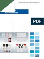 WEG Tomadas e Interruptores 50040573 Catalogo Portugues Br