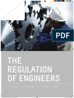 The Regulation of Engineers Booklet