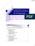 Chapter 02 W3 L1 L2 Descriptive Statistics 2015 UTP C4