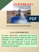 Hidrologia Agua Subterránea