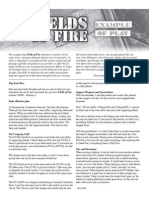 Fields of Fire Example of Play