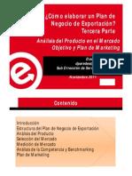 Prompex - Guía de Plan de Exportación