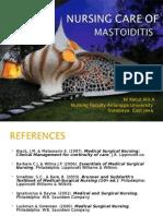 Mastoiditis NCP Sensory Perception