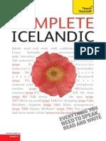 (Teach Yourself Language) Hildur Jonsdottir-Complete Icelandic_ a Teach Yourself Guide-McGraw-Hill (2010)