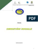 Nevoile specifice de consiliere și orientare profesională ale salariaților din sănătate și asistență socială, Studiu de caz