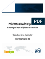 Polarization Mode Dispersion - FibreOpto