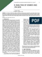 Performance Analysis of Zigbee and Wimax Based on Qos