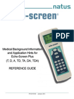 Echo-Screen Reference Guide