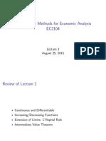 EC2104 Lecture 3