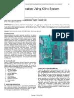 Waveform Generation Using Xilinx System Generator