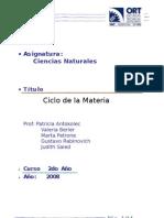II ciclo de la materia 2008