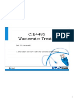 7. Interaction Between Wastewater Collection and Treatment