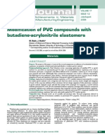Modification of PVC Compounds With NBR