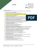2011 Biologie Etapa Judeteana Subiecte Clasa a XI-A 0