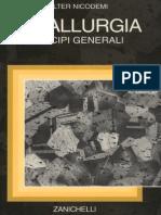 Principi Generali Di Metallurgia