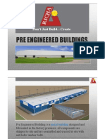 What is Pre Engineered Building(PEB)