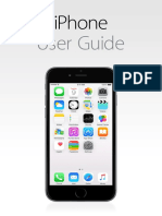 iPhone User Guide for IOS 8.4