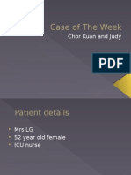 Case of the week (Hypercalcemia).pptx