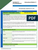 Flooding Informational Bulletin 1 09302015