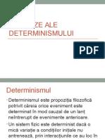 Ipostaze Ale Determinismului