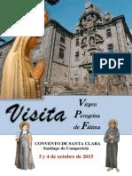 VISITA DE LA VIRGEN PEREGRINA. Folleto
