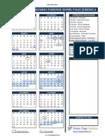 Calendário Forense HPJ 2015
