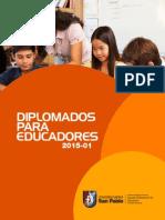 Brochure Diplomado Educadores