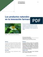 Productos Naturales en farmacologia
