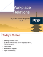 Workplace Relations Presentation (Ppt)