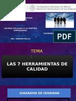 Las 7 Herramientas de Calidad (Lorenzo Calixtro Ramon)
