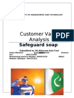 Customer Value Analysis Safeguard