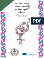 Infoletter Gender Equality