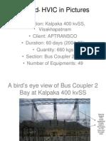 Sylgard HVIC Application at Kalpaka 400 KvSS