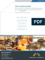 Brochure - Food Flavors Market - Global Trends & Forecast to 2018