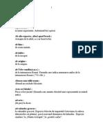 ### - Dictionar de Expresii Latine