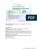 Introduction to Scuba Diving Unit 4- Diving Science