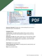 Introduction to Scuba Diving Unit 5 Decompression