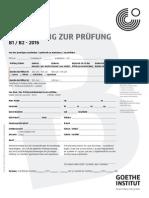 A Form B1 B2 Schwarz