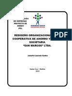 Tesis Cooperativa San Marcos Ltda