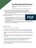 paperwork step by step process 090715